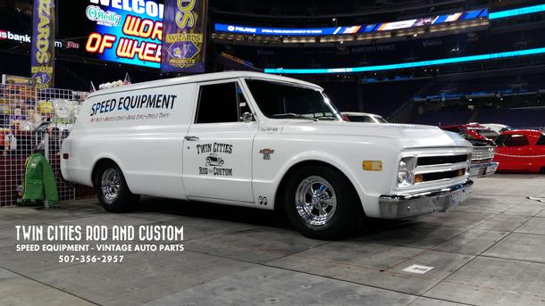 Shop Truck Build 1968 Chevrolet C/20 Panel Truck