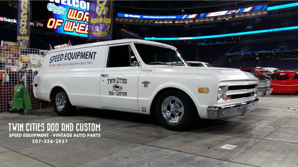 Shop Truck Build 1968 Chevrolet C/20 Panel Truck