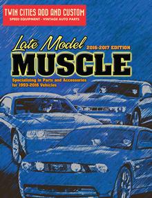 2017 Modern Muscle Car Parts Catalog