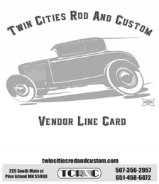 Twin Cities Rod And Custom Line Card
